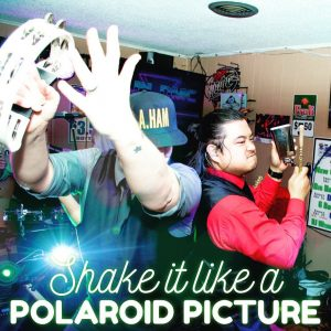 Fun DMC Shake It Like A Polaroid Picture