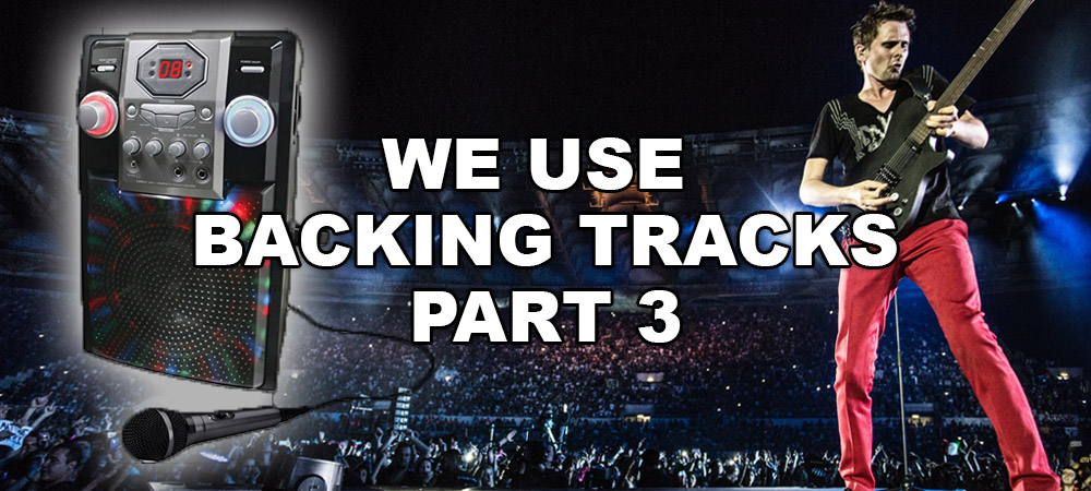 We Use Backing Tracks 3