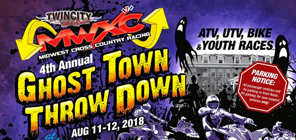 Midwest Cross Country Racing Ghost Town Throw Down
